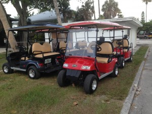 Cart Rentals on the island